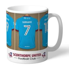 Personalised Scunthorpe United FC Dressing Room Mug