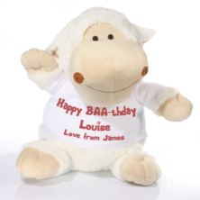 Extra Large Personalised Sheep Soft Toy