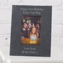 Personalised Slate 5x7 Photo Frame