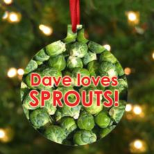 Personalised Sprouts Hanging Ornament