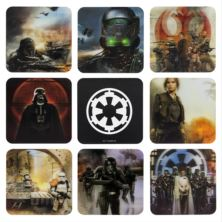 Star Wars Rogue One Set of 8 3D Coasters