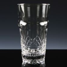 Personalised Cut Crystal Beer Pint Glass