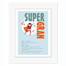 Personalised Super Gran Print