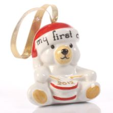 My First Christmas Teddy Decoration