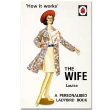 Personalised Ladybird Books For Adults - The Wife