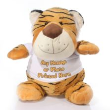 Extra Large Personalised Tiger Soft Toy
