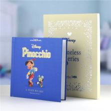 Timeless Pinnochio Personalised Book