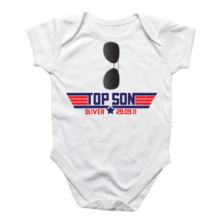 Personalised Top Son Baby Grow