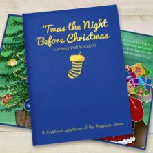 Personalised 'Twas the Night Before Christmas - Classic Hardback