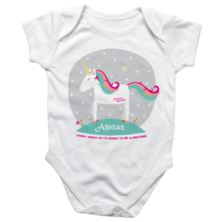 Personalised Magical Unicorn Babygrow