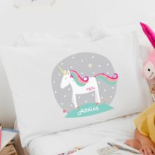 Personalised Magical Unicorn Pillowcase
