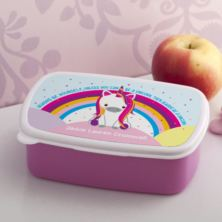 Personalised Unicorn Sparkle Lunch Box