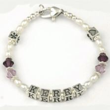 Personalised Naming Day Bracelet