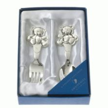 Teddy Bear Spoon & Fork Set