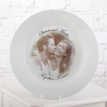 Photo Plate For Valentines Day