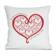 Personalised Best Nanna Ever Cushion