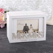 Personalised Amore Mr & Mrs Photograph Box
