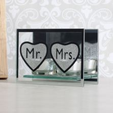 Mr & Mrs Tealight Holders