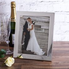Personalised Mr & Mrs Silver Photo Frame 8x10