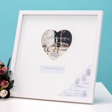 Amore Wedding Guest Thumbprint Frame