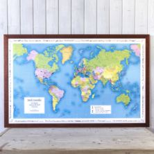 Personalised World Map Jigsaw Puzzle - Your Year Your World