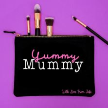 Personalised Yummy Mummy Make Up Bag