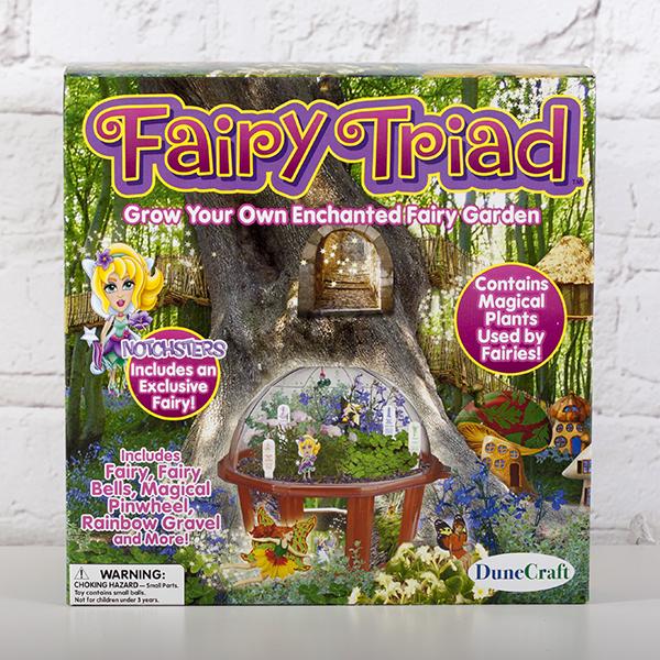 Fairy Triad Dome Terrarium - Fairy Gifts