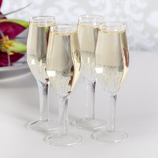 The Gift Experience Shot Glass - Mini Champagne Set of 4