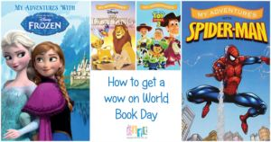 Getting a 'Wow' on World Book Day