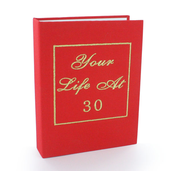 Your Life At 30 Photo Album - 30th gift