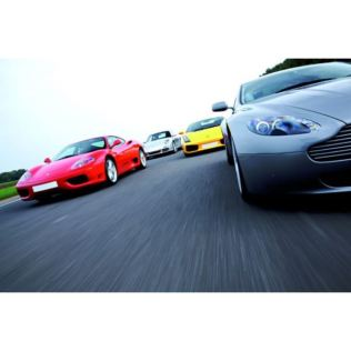 Four Supercar Driving Thrill Product Image