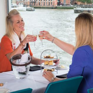 Bateaux Afternoon Tea Cruise on The Thames for Two  Product Image