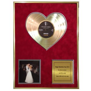 "Heart of Gold 12"" Disc with Photo and Message Product Image"