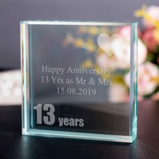 13th (Lace) Anniversary Keepsake Product Image