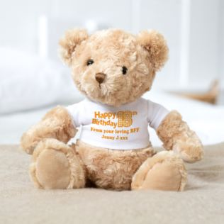 18th Birthday Personalised Honey Bear Product Image