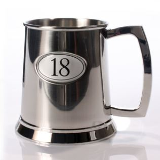 Personalised Age 18 Pint Tankard Product Image