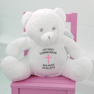 Embroidered First Holy Communion Angel Bear Product Image