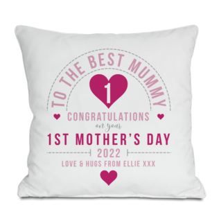Personalised First Mother's Day Cushion Product Image