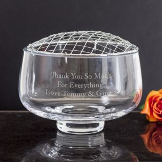 Engraved Rose Bowl Product Image