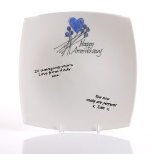 20th Anniversary Signature Plate Product Image