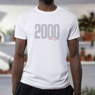 Personalised Established In 21st Birthday T-Shirt Product Image
