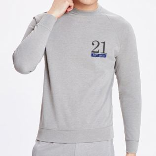 Personalised 21st Birthday Grey Sweatshirt Product Image