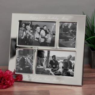 21st Birthday Engraved Collage Photo Frame Product Image
