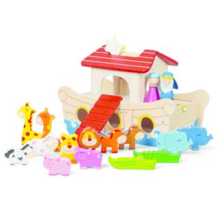 Wooden Noah's Ark Playset Product Image