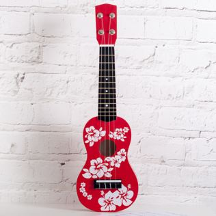 Red Ukulele Product Image