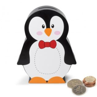 Penguin Money Box Product Image