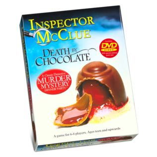 Murder Mystery Chocolate Puzzle Product Image