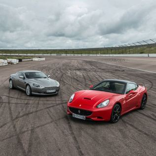 Ferrari and Aston Martin Driving Blast Product Image