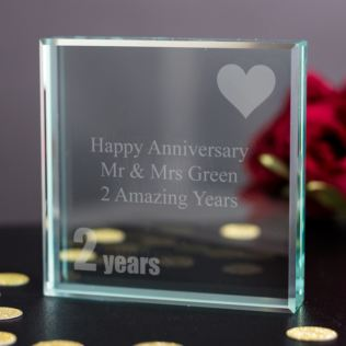 2nd Wedding Anniversary Gifts Cotton The Gift Experience