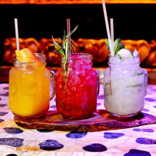 2 for 1 Three Course Dinner with Champagne Cocktail at Shaka Zulu Product Image